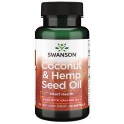 Swanson EFAsMade with Organic Coco Hemp Coconut Oil & Hemp Seed Oil