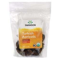 Swanson OrganicCertified Organic Turkish Apricots, Unsulphured