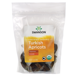 Swanson OrganicCertified Organic Turkish Apricots Natural, Unsulphured