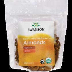 swanson organic almonds