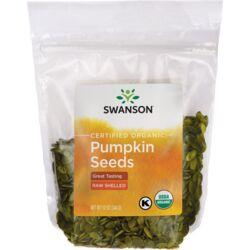 Swanson OrganicCertified Organic Pumpkin Seeds Raw, Shelled