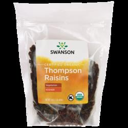 Certified Organic Raisins, Thompson Seedless