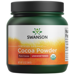 100% Certified Organic Cocoa Powder Unsweetened