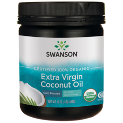 swanson organic extra virgin coconut oil