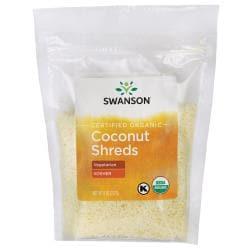 Swanson OrganicCertified Organic Unsulphured Coconut Shreds