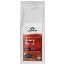 House Blend Fine Ground Organic Coffee - Medium