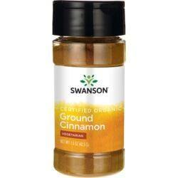 Swanson Organic100% Certified Organic Cinnamon (Ground)