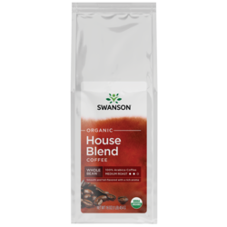 Swanson OrganicHouse Blend Whole Bean Organic Coffee - Medium