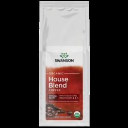 Swanson Organic House Blend Whole Bean Organic Coffee - Medium