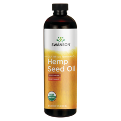 Swanson OrganicHemp Seed Oil