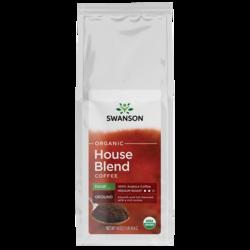 Swanson Organic House Blend Decaf Fine Ground Organic Coffee - Medium