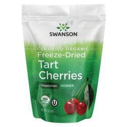 Swanson OrganicFreeze-Dried Tart Cherries, Unsweetened
