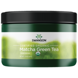 100% Certified Organic Matcha Green Tea