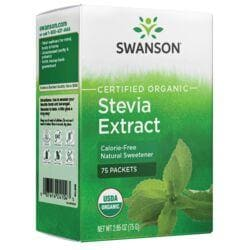 Swanson OrganicStevia Extract - Certified Organic Calorie-Free Sweetener