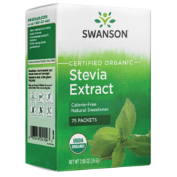 Swanson Organic Stevia Extract - Certified Organic Calorie-Free Sweetener