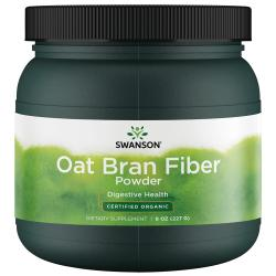 Swanson OrganicCertified Organic Oat Bran Fiber