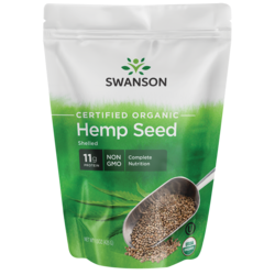 Certified Organic Hemp Seed Shelled