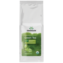 Swanson OrganicCertified Organic Loose Leaf Green Tea