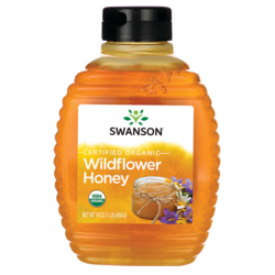 Certified Organic Raw Wildflower Honey