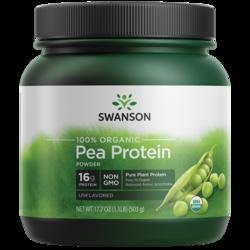 Swanson Organic100% Certified Organic Pea Protein Powder Non-GMO
