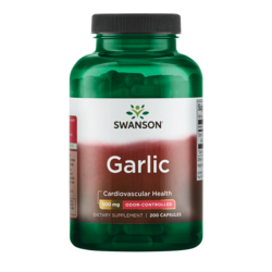 Swanson Best Garlic Supplements Odor-Controlled Garlic