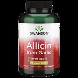 Swanson Best Garlic Supplements Maximum-Strength 100% Pure Allicin