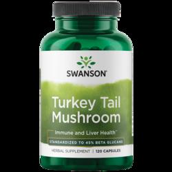 Swanson Superior HerbsTurkey Tail Mushroom