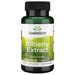 Swanson Superior Herbs Bilberry Extract (Standardized)