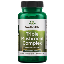High-Potency Triple Mushroom Standardized Complex