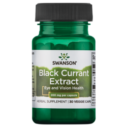 Swanson Superior Herbs Black Currant Extract (Cassis)