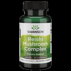 Swanson Superior Herbs Super Potent Reishi Mushroom Complex