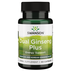 Swanson Superior HerbsDual Ginseng Plus