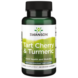 Swanson Superior HerbsHiActives Tart Cherry & Turmeric