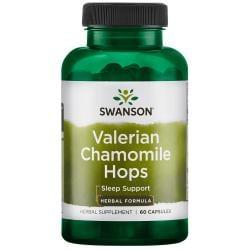 Swanson Superior HerbsValerian Chamomile Hops Sleep Complex