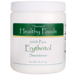 Swanson Healthy Foods100% Pure Erythritol