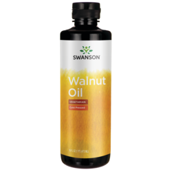 Swanson Healthy FoodsWalnut Oil, Cold Pressed