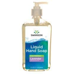 Swanson Healthy HomeEco-Friendly Liquid Hand Soap Lavender