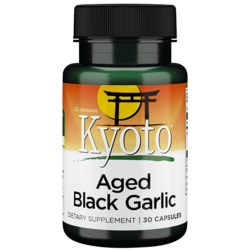 Swanson Kyoto BrandAged Black Garlic