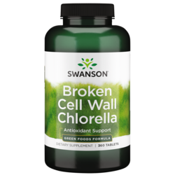 Swanson GreenFoods Formulas Broken Cell Wall Chlorella