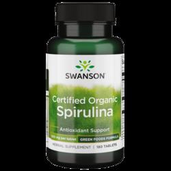 Swanson GreenFoods FormulasCertified Organic Spirulina