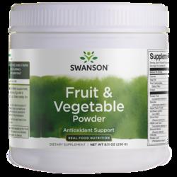 Swanson GreenFoods Formulas Fruit & Vegetable Powder