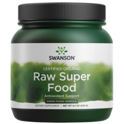 Swanson GreenFoods Formulas Certified Organic Raw Super Food