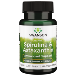 Swanson GreenFoods FormulasOrganic Spirulina & Astaxanthin