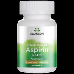 Swanson OTCLow Dose Aspirin Enteric Coated