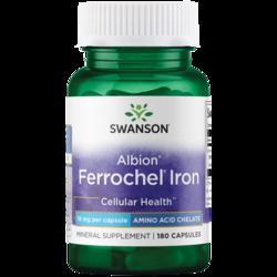 Swanson UltraAlbion Chelated Ferrochel Iron Glycinate