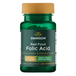 Swanson UltraReal Food Folic Acid