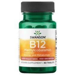 Swanson UltraVitamin B-12 Methylcobalamin - High Absorption