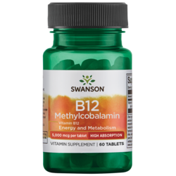 Swanson UltraVitamin B-12 Methylcobalamin, High Absorption