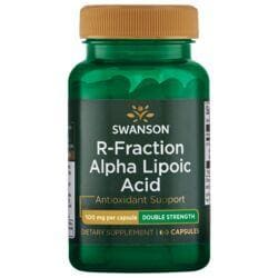 Swanson UltraDouble-Strength R-Fraction Alpha Lipoic Acid
