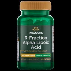 Swanson Ultra Double-Strength R-Fraction Alpha Lipoic Acid